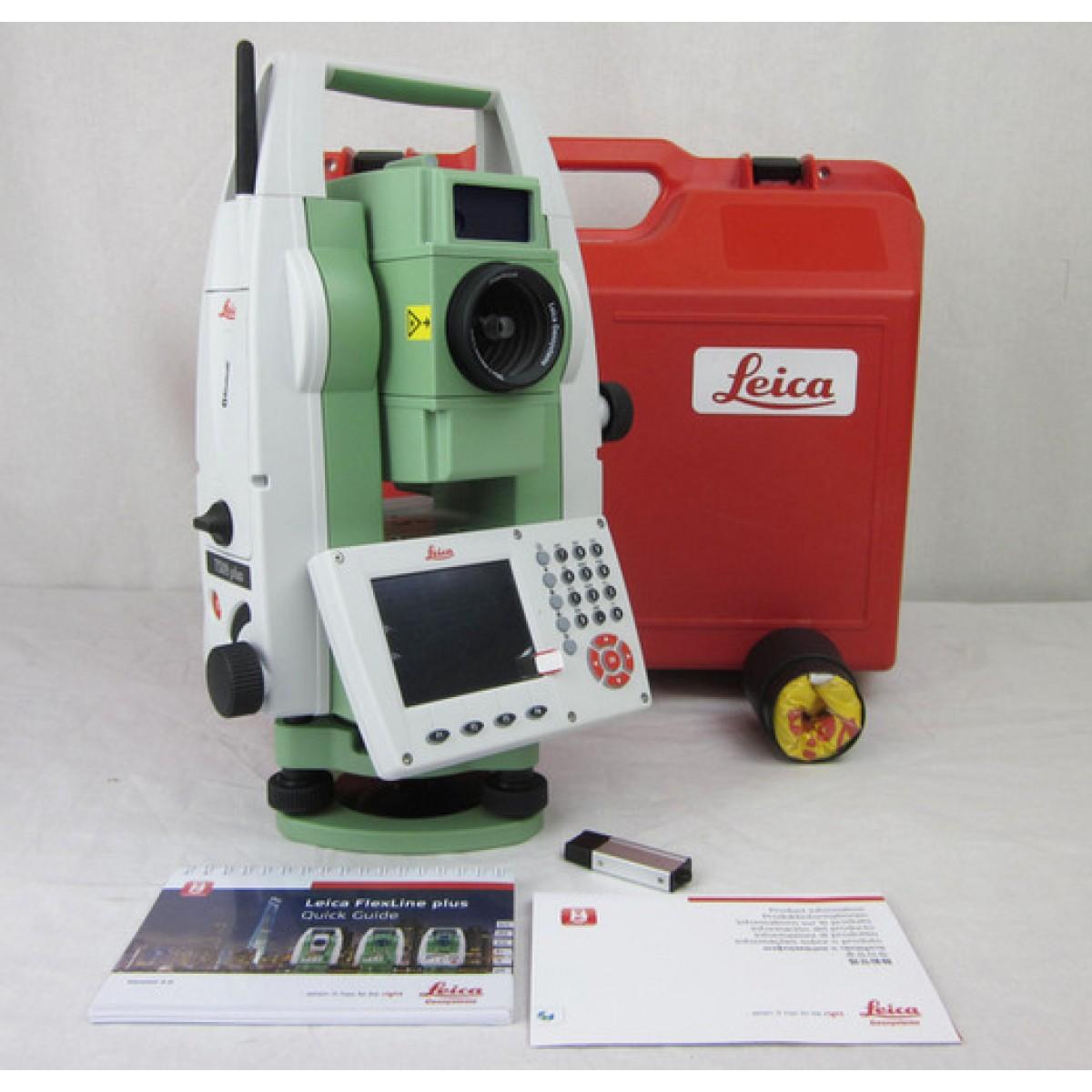 Leica Flexline Ts09plus Reflectorless Total Station
